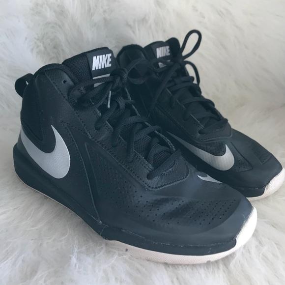 c995f3fc43df Nike Team Hustle Basketball Shoes - Size 4Y. Nike.  M 5a6e3ec13b16083b1aafb0a7. M 5a6e3ec52ab8c50f87689c32.  M 5a6e3ec82ab8c5a620689c37